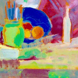 High-Key Colour Oil Painting
