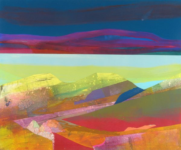 Landscape artwork by Colin Black